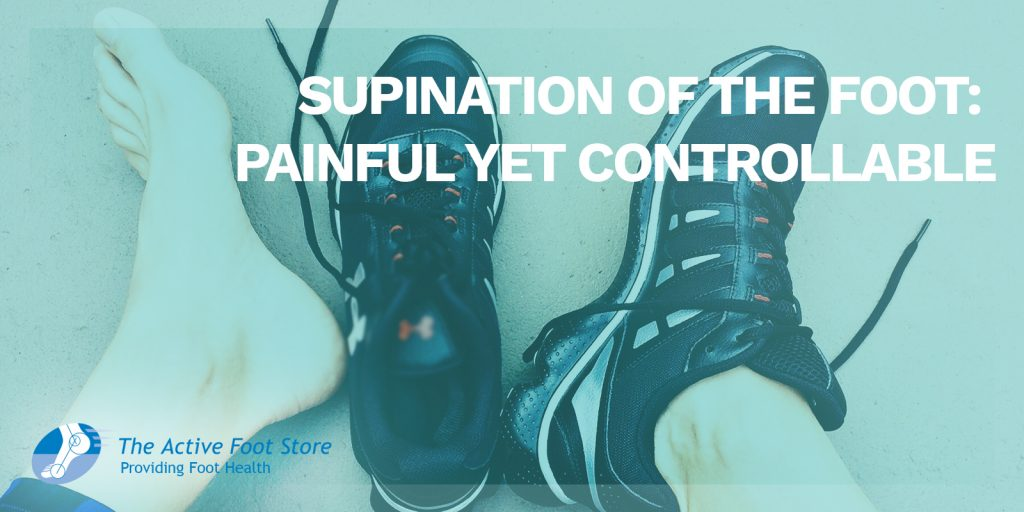 Supination of the Foot Painful Yet Controllable